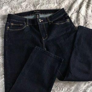 WHBM Slim Crop Jean